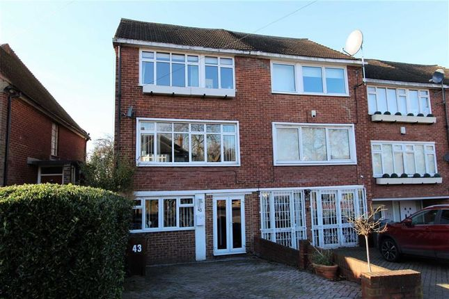 Thumbnail Town house for sale in Mount Echo Avenue, North Chingford, London