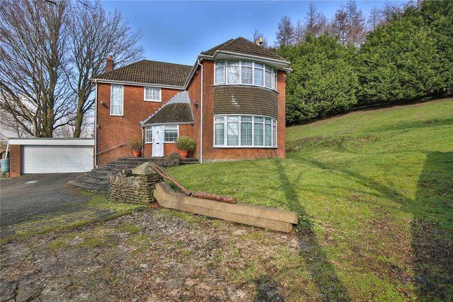 Thumbnail Detached house for sale in St. James Close, Tredegar, Blaenau Gwent