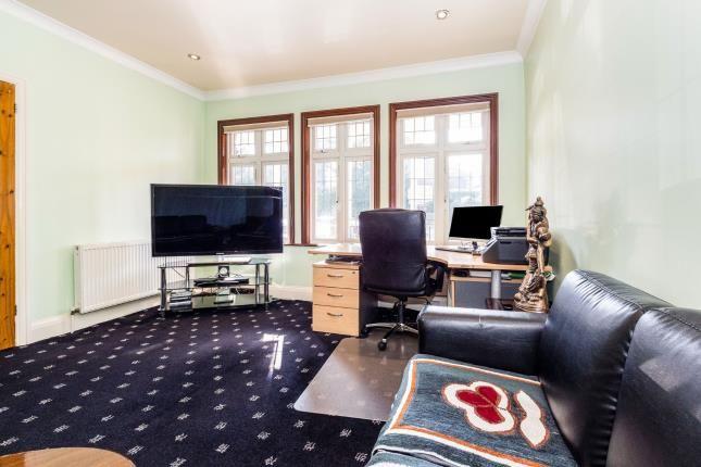 TV Room of Manor Road, Chigwell IG7