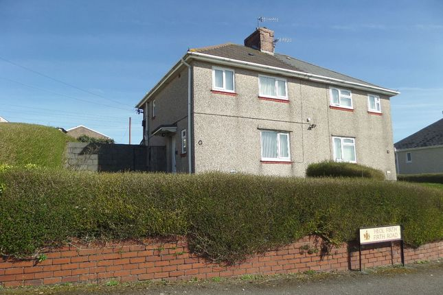 Thumbnail Semi-detached house for sale in Firth Road, Llanelli