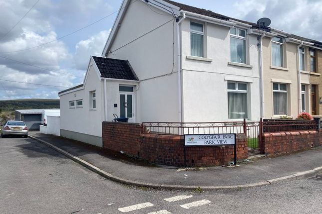 Thumbnail End terrace house for sale in Park View, Tredegar