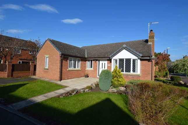 Thumbnail Detached bungalow for sale in 1 Melrose Gardens, Croston, Leyland