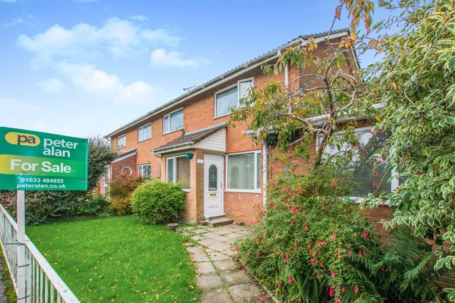 Thumbnail End terrace house for sale in Tenby Close, Llanyravon, Cwmbran