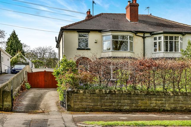 Thumbnail Semi-detached house for sale in Montgomery Road, Kenwood, Sheffield