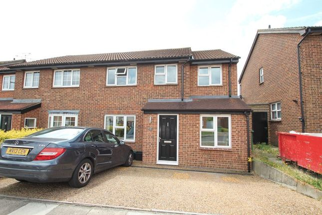 Thumbnail Semi-detached house for sale in Ashurst Close, Crayford, Dartford