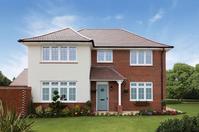 "Thumbnail Detached house for sale in ""Shaftesbury"" at Orwell Drive, Arborfield, Reading"