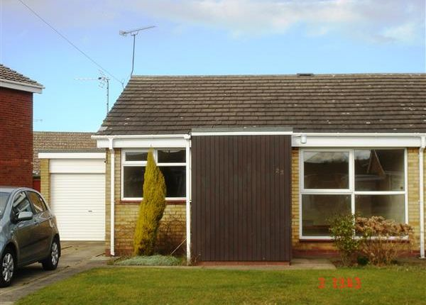 Thumbnail Semi-detached bungalow to rent in Huntingdon Crescent, Burton-Upon-Stather, Scunthorpe
