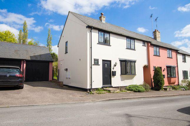 Thumbnail End terrace house for sale in The Grip, Linton, Cambridge