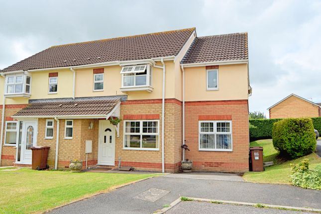 Thumbnail Semi-detached house for sale in Dove Close, Cullompton