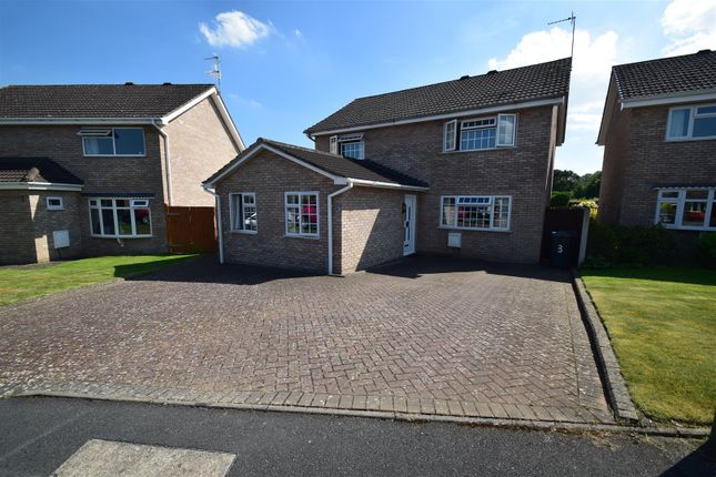 Thumbnail Detached house for sale in Snowdrop Close, Shrewsbury
