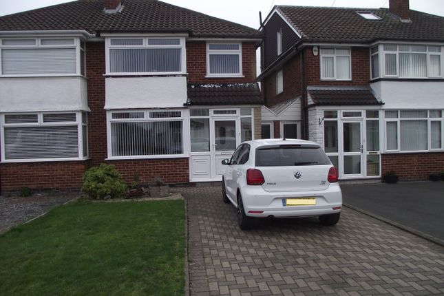 Semi-detached house in  Selworthy Road  Castle Bromwich  Birmingham  West Midlands