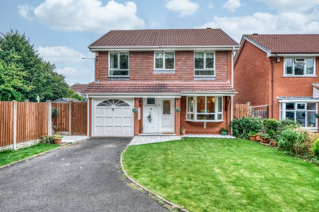 Thumbnail Detached house for sale in Woodbury Grove, Solihull