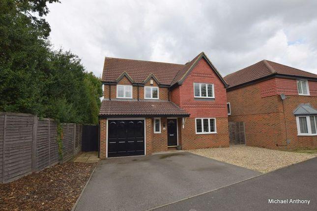 Thumbnail Detached house for sale in Wallinger Drive, Shenley Brook End, Milton Keynes