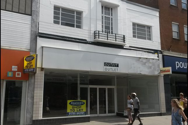 Thumbnail Retail premises for sale in Regent Street, Swindon