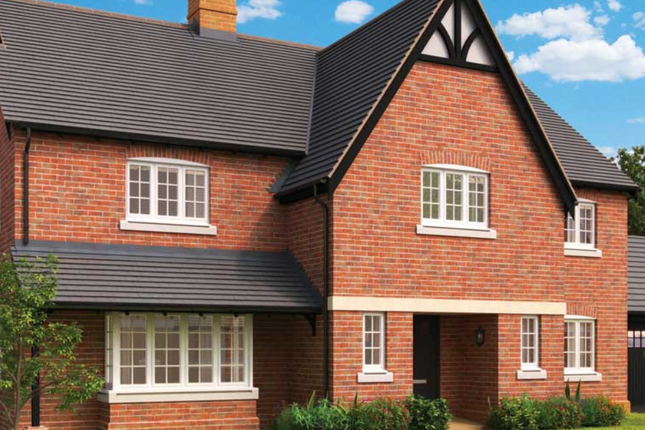 Thumbnail Detached house for sale in Rugby Road, Dunchurch