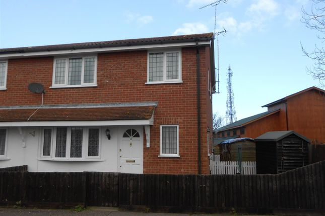 Thumbnail End terrace house to rent in Clay Hall Road, Clacton-On-Sea