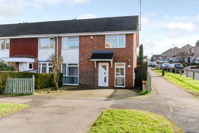 Thumbnail End terrace house for sale in Orchard Way, Knebworth, Hertfordshire