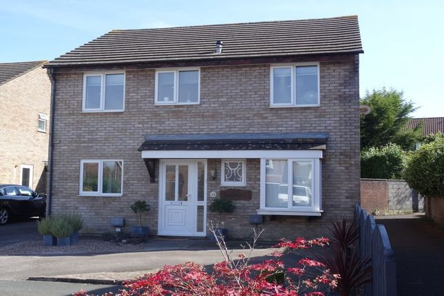 Thumbnail Detached house for sale in Gatesby Mead, Stoke Gifford, Bristol, Gloucestershire