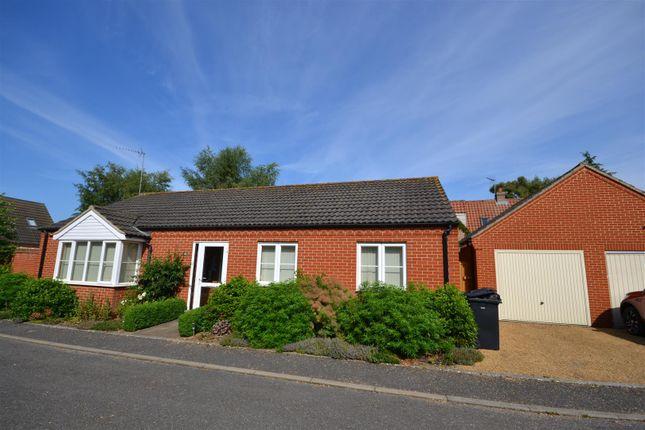 Thumbnail Detached bungalow for sale in Paiges Close, Dersingham, King's Lynn
