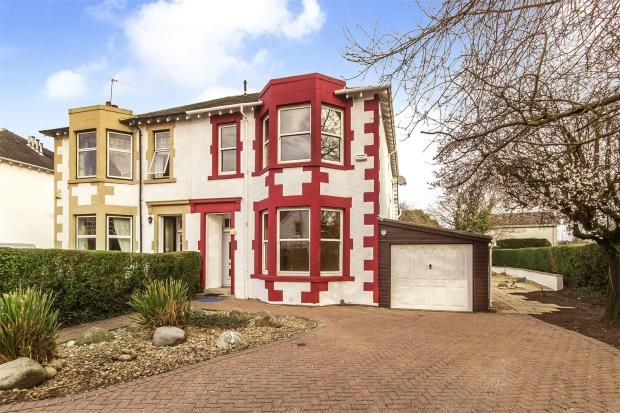 Thumbnail Semi-detached house for sale in Letham Drive, Newlands, Glasgow