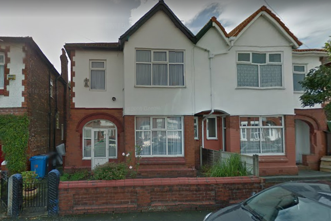 Thumbnail Semi-detached house to rent in Milverton Road, Victoria Park, Manchester