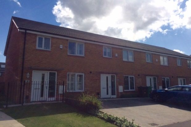 Thumbnail Town house to rent in Horwood Drive, Nottingham