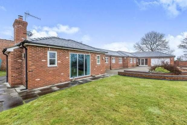 Thumbnail Bungalow to rent in Butterton, Newcastle-Under-Lyme