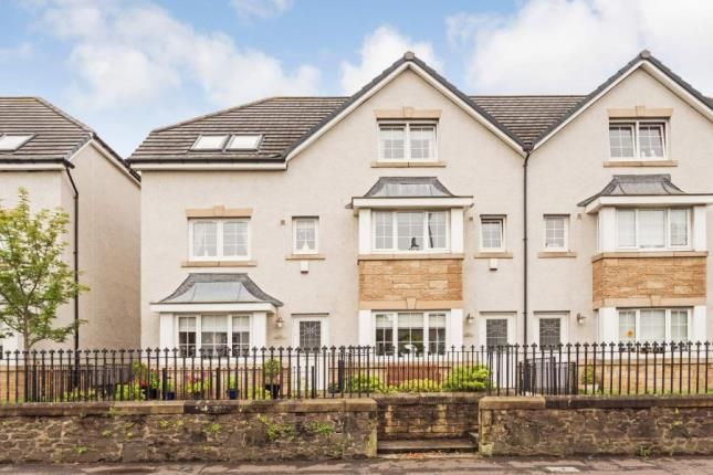 Thumbnail Town house for sale in Bank Street, Irvine, North Ayrshire