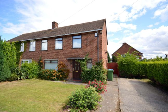 Thumbnail Semi-detached house for sale in Blandford Drive, Newbold, Chesterfield