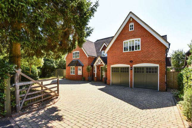 Thumbnail Detached house for sale in Longwater Lane, Wokingham