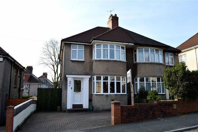 3 bed semi-detached house for sale in Harlech Crescent, Swansea