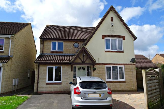 Thumbnail Detached house for sale in Heritage Close, Peasedown St. John, Bath