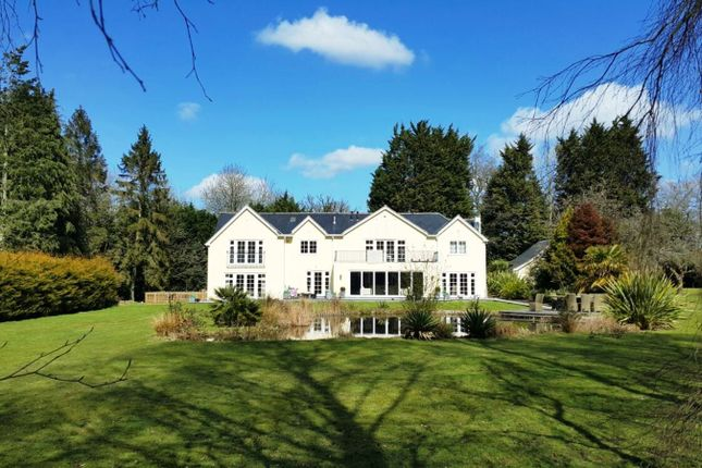 Thumbnail Detached house for sale in Church Lane, Arborfield, Reading