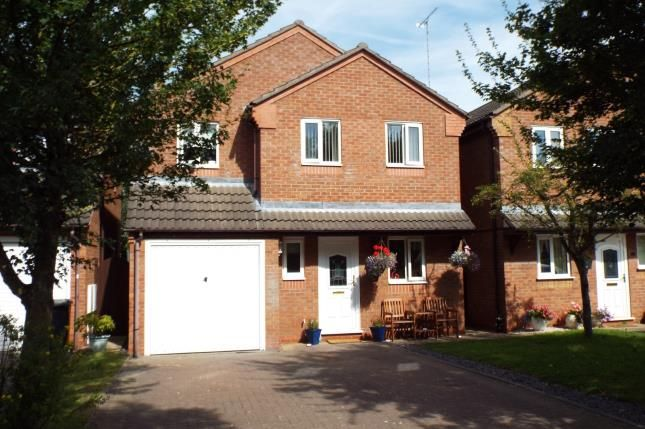 Thumbnail Detached house for sale in Badgery Close, Greenacres Drive, Uttoxeter, Staffordshire
