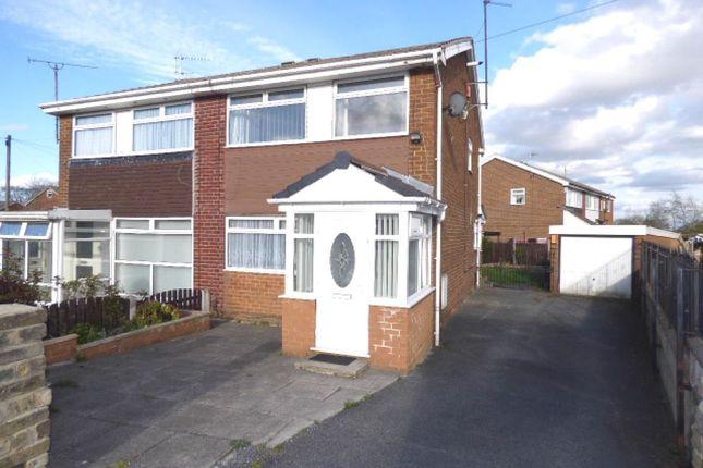 Thumbnail Semi-detached house for sale in Sandringham Road, Clayton, Bradford
