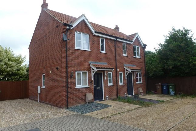 Thumbnail Semi-detached house to rent in Granger Close, Wisbech