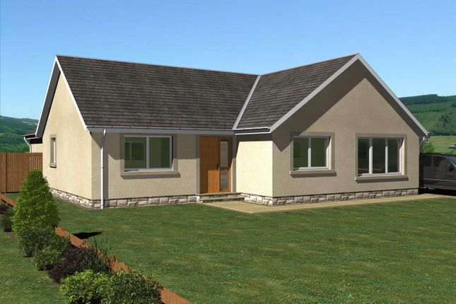 Thumbnail Detached bungalow for sale in The Scott, East Broomlands, Kelso