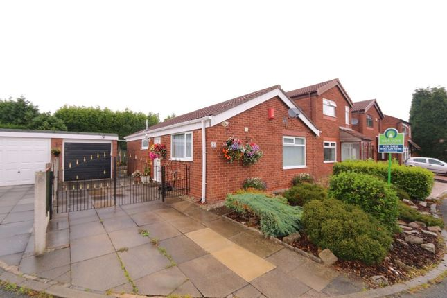 Thumbnail Bungalow for sale in Broomfields, Denton, Manchester