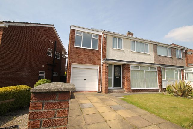Thumbnail Semi-detached house to rent in Southlands, Eighton Banks, Gateshead, Tyne & Wear