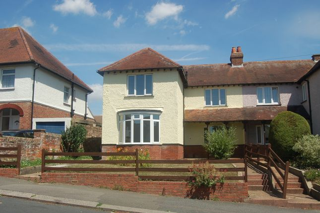 Thumbnail Semi-detached house to rent in Alder Road, Folkestone