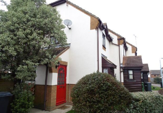 Thumbnail Terraced house to rent in Constance Close, Witham