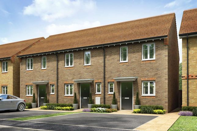 Thumbnail Terraced house for sale in Brunel Rise, Didcot