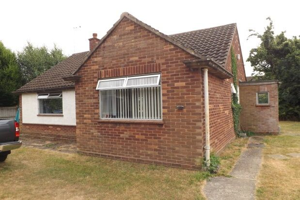Thumbnail Detached bungalow to rent in Leeway Avenue, Great Shelford, Cambridge