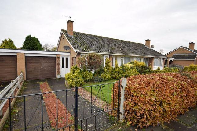 Thumbnail Semi-detached bungalow to rent in Kirkstone Crescent, Carlisle