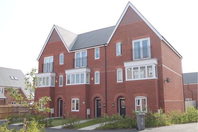 Thumbnail Town house for sale in Lamprey Drive, West Timperley, Altrincham