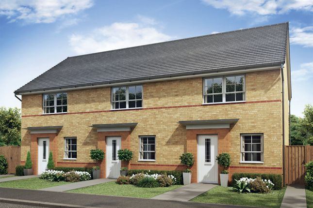 """Thumbnail Terraced house for sale in """"Barton"""" at Tiber Road, North Hykeham, Lincoln"""
