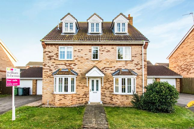 Thumbnail Detached house for sale in Mercia Drive, Ancaster, Grantham