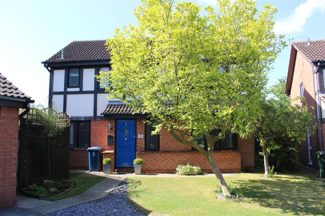 Thumbnail Detached house for sale in Court Gardens, West Bridgford, Nottingham