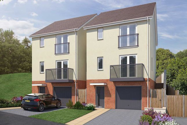"""Thumbnail 3 bed semi-detached house for sale in """"The Newark"""" at Vicarage Hill, Kingsteignton, Newton Abbot"""