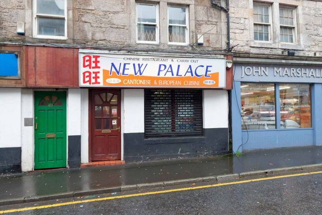 Thumbnail Commercial property for sale in High Street, Johnstone